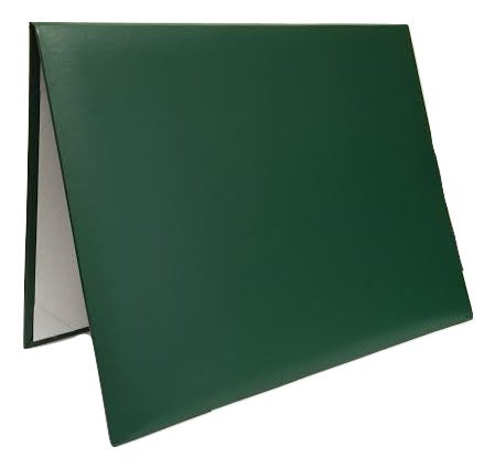 Diploma Certificate Cover - Document Holder, 8.5' x 11', Leatherette, Hunter Green