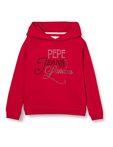 Pepe Jeans Irina Suéter, Rojo (288), 12 años para Niñas