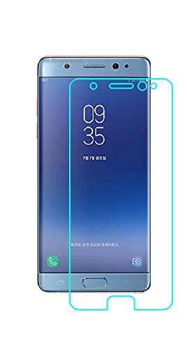 DARSHILGLOBE Anti-Fingerprint Hammer Proof Impossible Screen Protector [Not a Tempered Glass, 10x togher then normal glass] Screen Guard with easy installation kit for Samsung Galaxy Note Fan Edition
