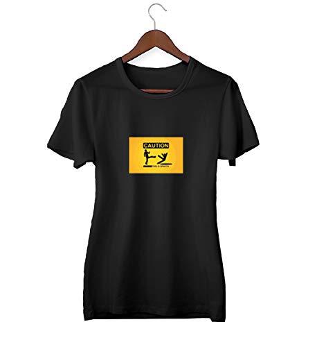 Dit is Sparta 300 Voorzichtigheid Natte Vloer Sign_KK023816 Shirt T-shirt T-shirt voor Mannen Gift voor Hem Present Verjaardag Kerstmis