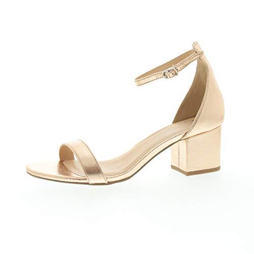 SPM Damen Sandalette Irin Sandal Rose Anderes Leder 233588121213146009017 (Numeric_39)