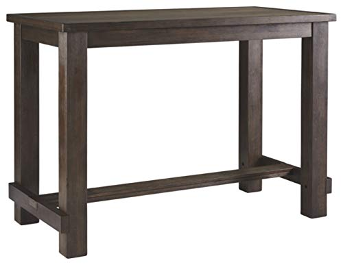 wood bar table - 4