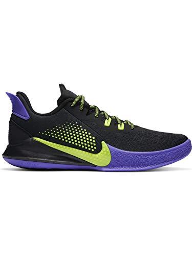 Nike Mamba Fury - schwarz|gelb|lila
