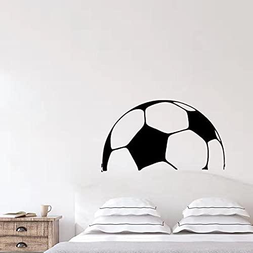 Fútbol deportes tatuajes de pared niños dormitorio pegatinas de pared fútbol decoración de la pared fútbol niños diseño mural de pared A3 42x24 cm