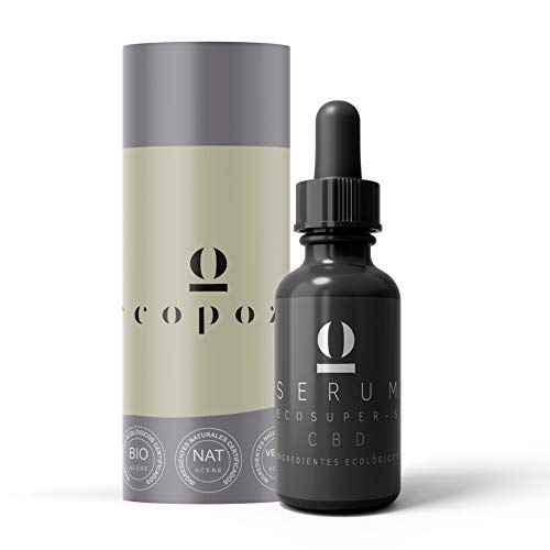 Serum Facial 50 ml con Acido Hialuronico Puro Orgánico  Antiarrugas Mujer  Contorno de ojos  Serum con Aloe Vera + Colágeno + Coenzima Q10 + Vitamina A y E  Aquisana