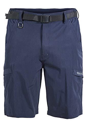 Mr.Stream de Randonnée Homme Short de Sport Respirant d'extérieur Séchage Rapide Poids Léger Cargo Bermuda d'escalade Multi-Poches Shorts X-Large Blau