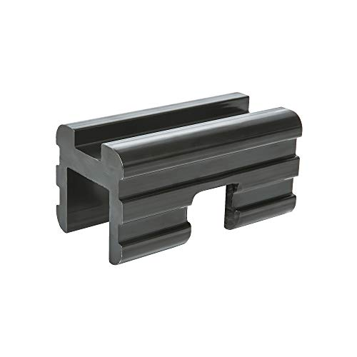 """KAC 2"""" to 1.25"""" Trailer Hitch Adapter Receiver Reducer (2"""" Hitch Receiver to 1 1/4"""" Insert) for Bike Racks, Cargo Racks, Luggage Carriers - Includes Hitch Pin"""