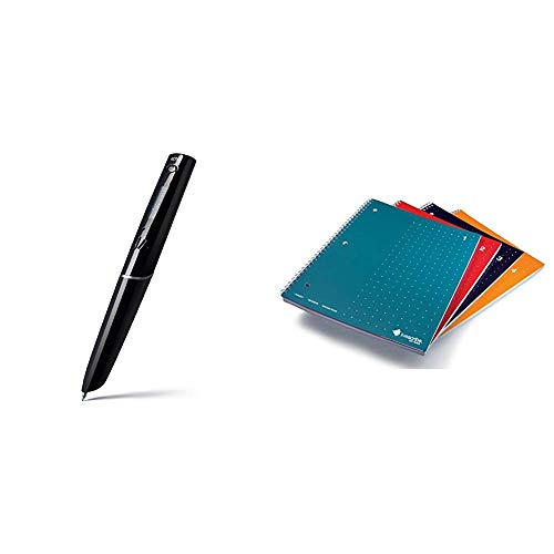 Livescribe 2GB Echo Smartpen Bundle with Livescribe 8.5 x 11 Single Subject Notebook #1-4 (4-Pack)