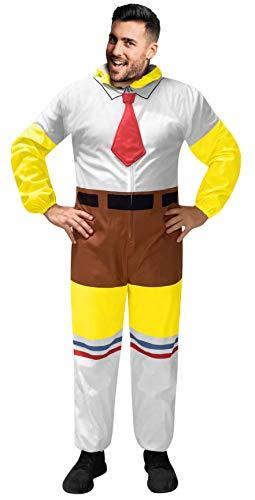 Disfraz de Bob Esponja para adultos - - Small/Medium
