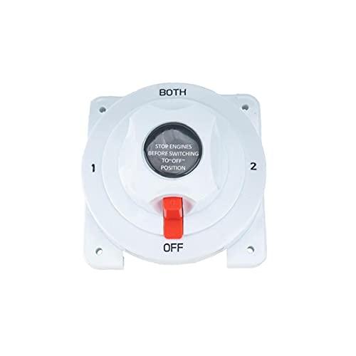 WFIT Selector De Batería CC Marina Interruptor De 3 Posiciones 300 Amp Máximo para El Sistema 6-32v