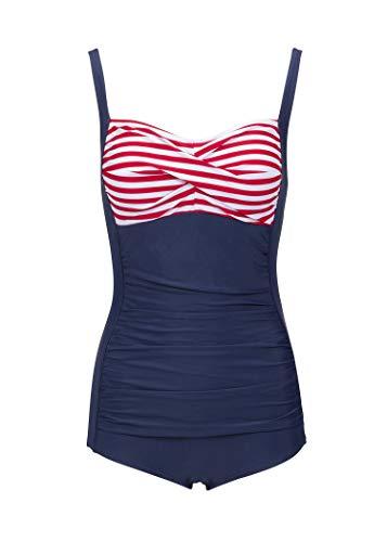 Maritimer Sailor Matrosen Pin Up Rockabilly Retro Bañador azul L