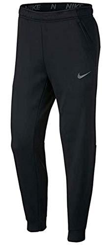 Nike Mens Tapered Therma Training Sweatpants (Black/Carbon Heather, Medium)