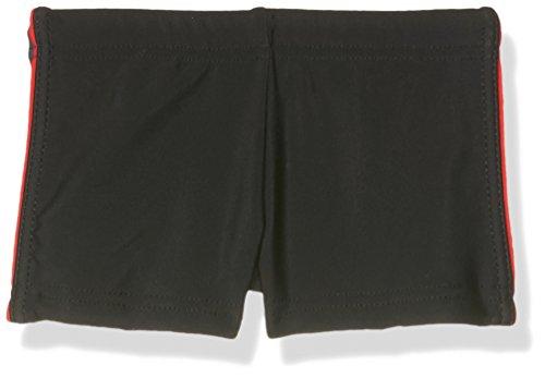 Haute pression B16 Short de bain Garçon Noir (Noir/Gris/Rouge) 14 ans (Taille fabricant: 14ANS)