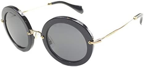 Miu Miu Women s MU 13NS Designer Sunglasses Black product image