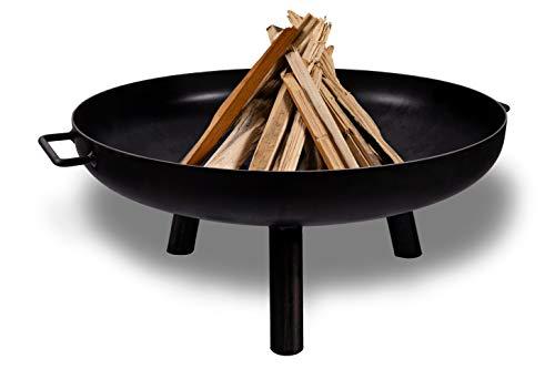 SteelArt Feuerschale Model 60 Feuerstelle, Feuerkorb, Grill aus Stahl für Garten & Terasse
