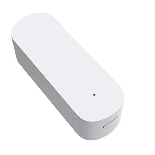 SKTE Tuya Smart Wireless Vibration Sensor Zigbee, Smart Door and Window Alarm, Sistema de Alarma de Seguridad para el hogar con Ventana Rota