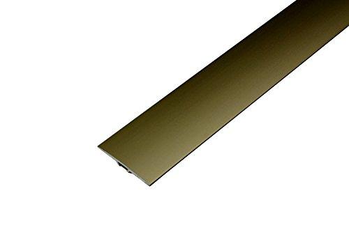Dalsys Parkett Laminat Übergangsprofil Dehnungsprofil 40 x 900 mm 90cm, 1 Stück (selbstklebend)