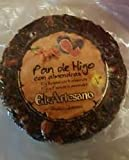 Pan de higo con almendras - 200 g - Marca El Artesano - Dulce típico tradicional navideño - Calidad Suprema