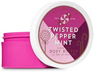 【Bath&Body Works/バス&ボディワークス】 ボディバター ツイステッドペパーミント Body Butter Twisted Peppermint 6.5 oz / 185 g [並行輸入品]