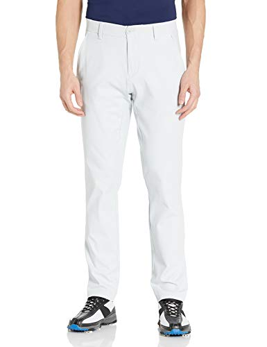 Under Armour Herren Iso-chill Taper Golfhose, Herren, Hose, 1350051, Halo Grau (014)/Halo Grau, 34W x 32L