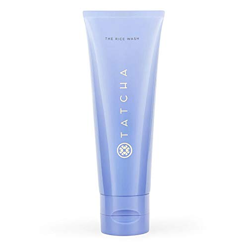 Tatcha The Rice Wash: Soft Cream Cleanser for Softer Complexion, 120ml   4 oz