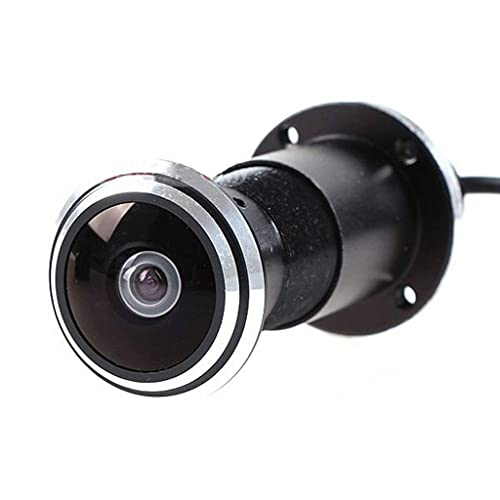 QQSS HD Gran Angular Cámara Espía Mirilla De Puerta De Seguridad Cámara De Vigilancia For Villa Casa Apartamento Oficina Principal De Seguridad