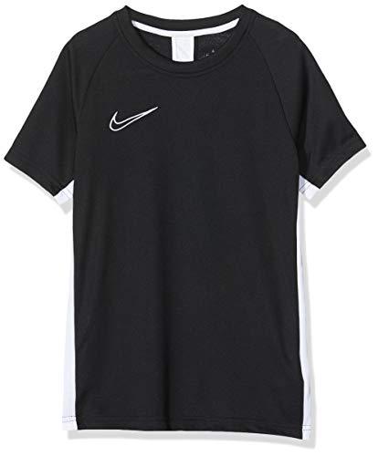 Nike B NK Dry ACDMY Top SS T-Shirt Garçon Black/White/(White) FR: S (Taille Fabricant: S)