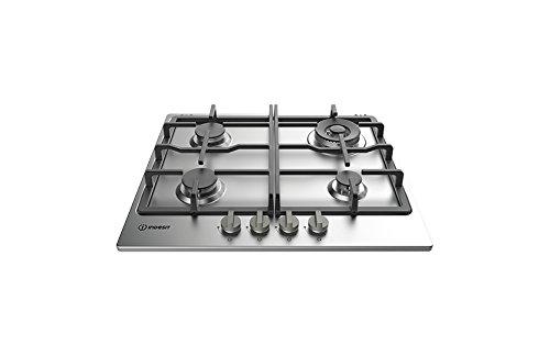Indesit THP 641 W/ix/Les encastrable plan cuisson à gaz acier inoxydable plan cuisson