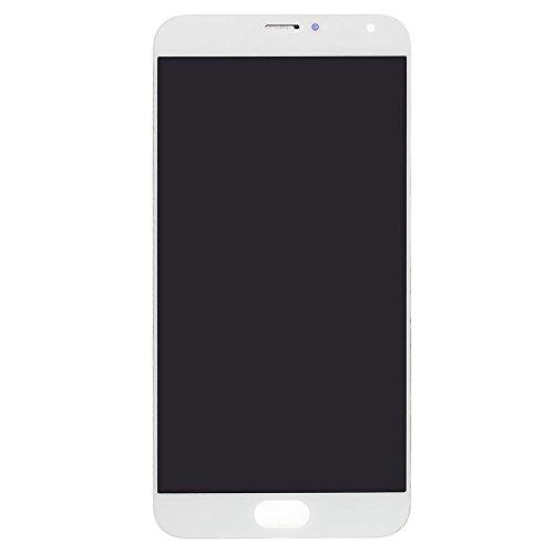 MOVILSTORE Pantalla Completa LCD + Tactil + Marco Compatible con MEIZU MX5 Blanco