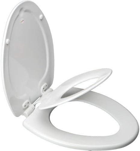popular Bemis 1483SLOW outlet online sale 000 Nextstep Wood Elongated Slow-Close new arrival Toilet Seat sale