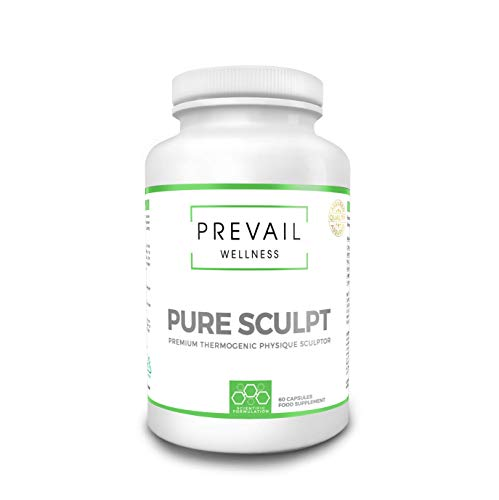 PREVAIL WELLNESS Pure Sculpt | Elite Fat Burner & Weight Loss Supplement | 60 Tablets | Suitable for Men and Women | Made in The U.K