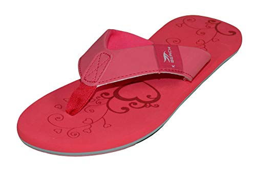 MADSea Beach Woman Tongs Femme Rouge/Multi, Taille:39