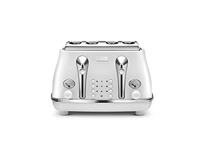 Delonghi Ctoe4003.W Elements Toaster, 1800 W