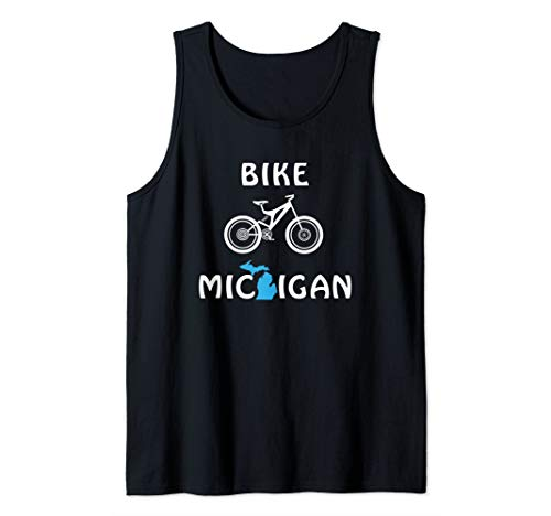 Mountain Bike Michigan for Cyclists & Bicycle Riders Tank Top