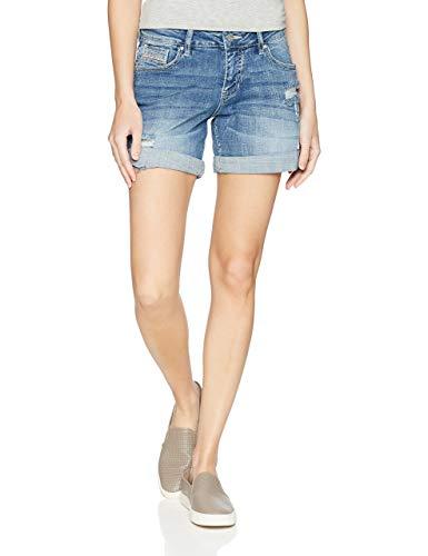 Jag Jeans Women's Alex Rise Boyfriend Short, Mid Vintage 57MIVI, 10