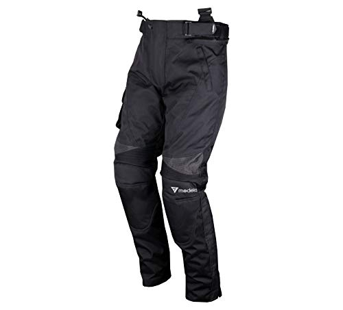 Modeka Brisbane Motorrad Textilhose Kurz 9XL Schwarz