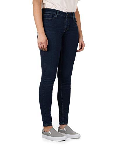 Levis Damen Jeans 710 SUPER Skinny 17780-0032 Blau, Hosengröße:27/32