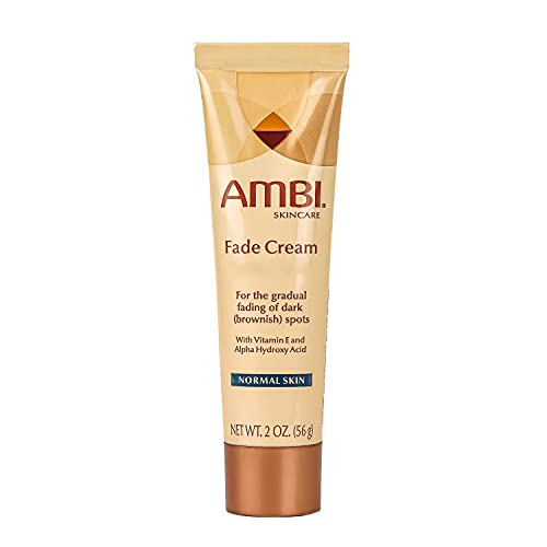 Ambi Skincare Fade Cream for Normal Skin | Dark Spot Remover for Face and Body | Treats Skin Blemishes & Discoloration | Improves Hyperpigmentation | Corrector | 2 Oz (56 g) - Packaging May Vary
