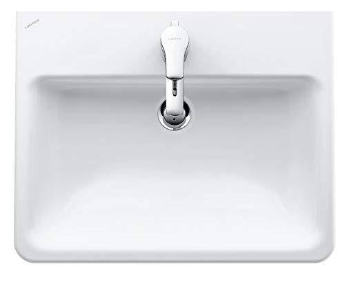 Laufen Einbau-Waschtisch PRO S ohne Hahnloch 560x440 LCC weiß, 8189634001091