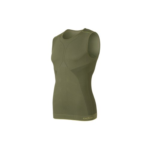 Odlo Maillot de Corps Ras de Cou pour Homme Evolution Light Green XL Vert - Vert Clair