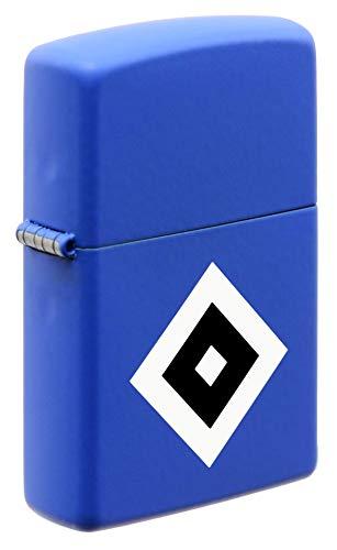 Zippo Feuerzeug Hamburger SV blau mit Logo HSV Raute