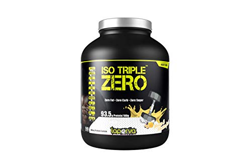 Laperva ISO Triple Zero Next Generation Premium Whey Protein Isolate Zero Carb, Zero Fat, Zero Sugar whey Protein Powder for Weight Loss and Muscle gain (Mango & Passion Fruit)