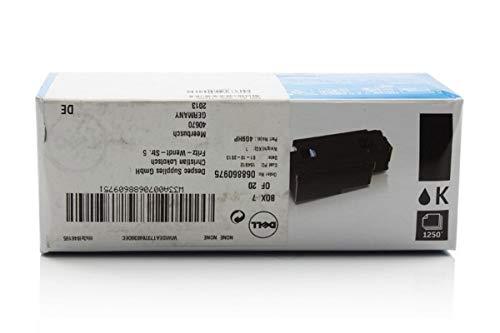Dell original - Dell C 1660 w (7C6F7 / 59311130) - Toner schwarz - 1.250 Seiten