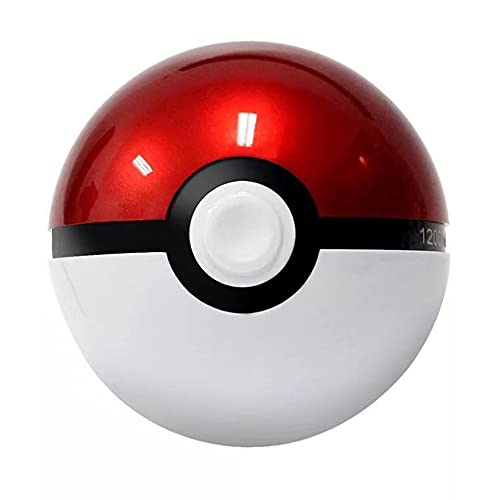 Sofia's Pokemon Monster Collection Monster Ball, Pokemon Poke Ball 2021, Pokemon Pokeball Powerbank Master Ball Charger 12000-20000 mAh for Smartphones Red 20000 mAh
