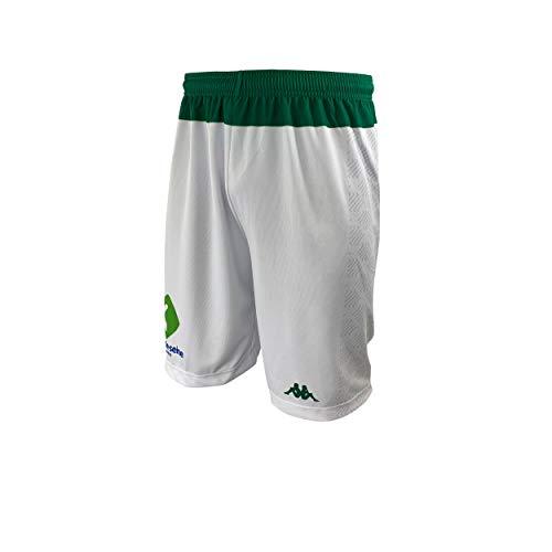 Nanterre 92 Nanterre Short Officiel Domicile 2019-2020 Basketball Mixte Adulte, Blanc, FR : L (Taille Fabricant : L)