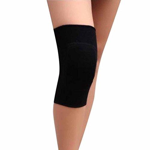 SparY Rodilleras de algodón para Danza, Yoga, Deportes, Voleibol, otoño, Rodilleras, Rodilleras, Apoyo para niños, Deporte/Baile, Negro, Small