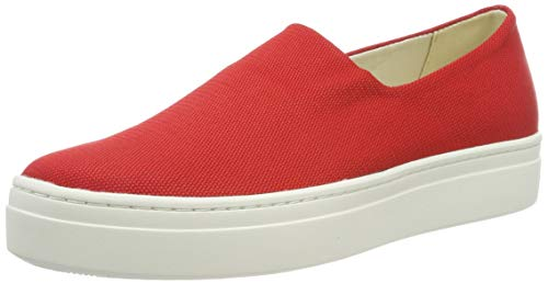 Vagabond Damen Camille Slip On Sneaker, Rot (Red 40), 38 EU
