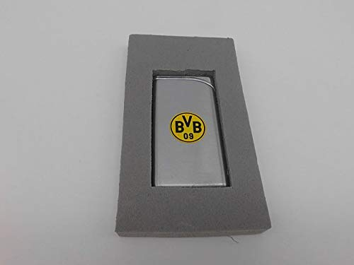 BVB Borussia Dortmund 09 Luxus Feuerzeug Metall silber