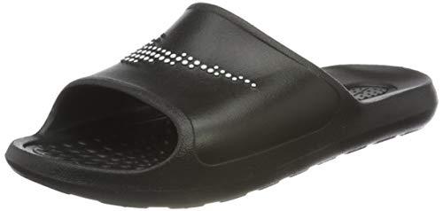 Nike Men's Victori One Shower Slide Trail Running Shoe, Black/White-Black, 9 UK