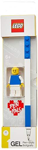 LEGO - Gel Pen - Azul + Minifiguras.